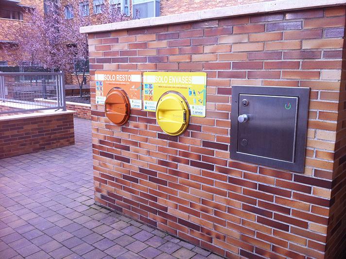 La recogida neumática de residuos en el interior de edificios se incrementó un 18% de media en los meses de marzo y abril