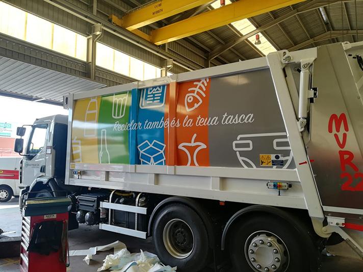 Benissa Impuls sigue confiando en Allison Transmission para su flota de recogida de residuos
