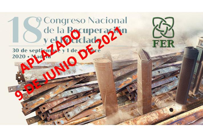 FER aplaza la celebración de su 18º Congreso a junio de 2021