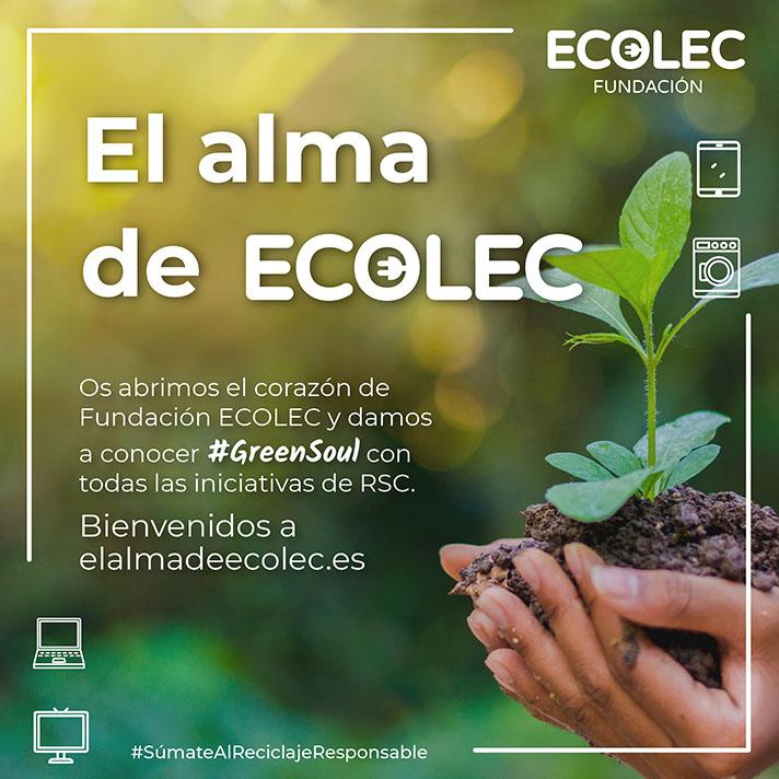 En elalmadeecolec.es se recoge la parte más solidaria de la organización a través de las acciones que tienen una incidencia directa en la sociedad de distintas formas