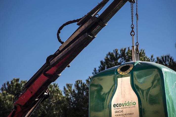 Ecovidrio impulsa la sostenibilidad de sus operaciones en 2019, un año récord para la recogida selectiva de envases de vidrio