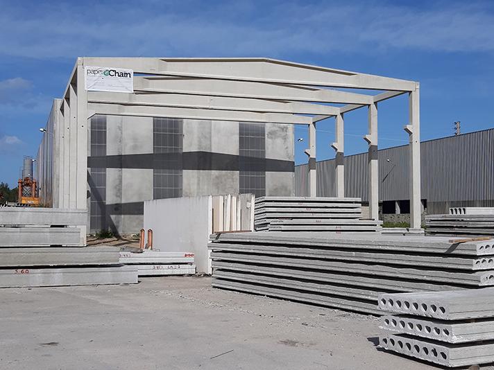 El proyecto paperChain evalúa el uso de residuos industriales en el sector de la construcción en Portugal