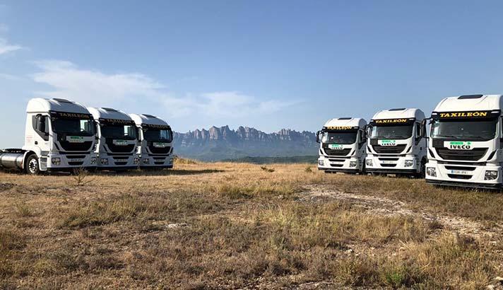 ILUNION incorpora seis camiones de gas natural a su área de reciclados