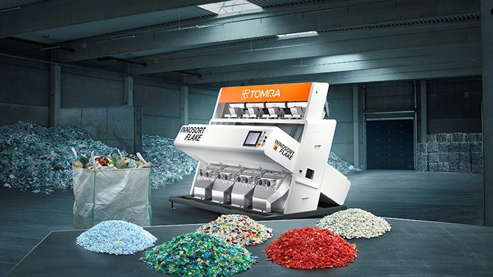 TOMRA Sorting Recycling: nueva solución para escama de plástico