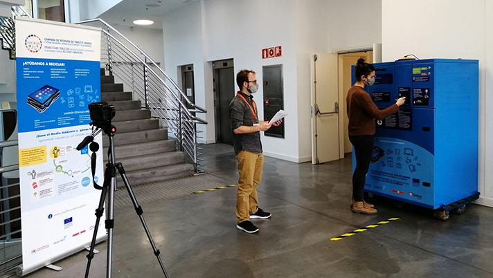 Recyclia colabora en una experiencia piloto que se desarrollará en Getxo y que ya ha arrancado con una prueba con usuarios voluntarios