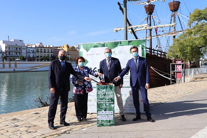 La tercera #GreenLeague instalará más de 30 puntos de recogida de residuos de aparatos eléctricos y electrónicos en empresas e instituciones de Andalucía y Cataluña