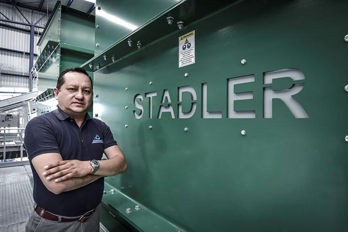 Operadora de Ferrocarril y Manejo de Rellenos (OFMRS) estrena planta de separación de Stadler en México