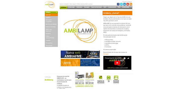 AMBILAMP-AMBIAFME pone en marcha AMBIPLACE,  su marketplace social para la prevención de residuos