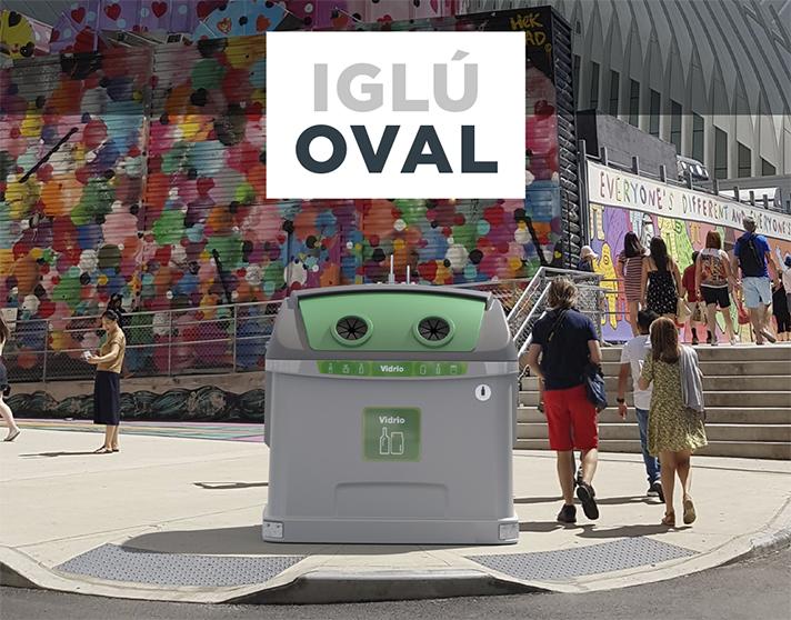 Contenur: Iglú OVAL, optimización y estética en un solo producto