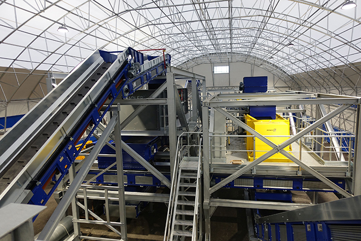 Stadler pone en marcha un nuevo Centro de Pruebas e Innovación en Eslovenia,  dedicado a la clasificación y el reciclaje de plástico