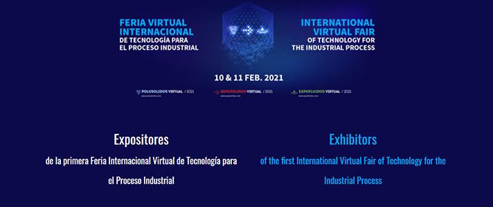 La Feria Virtual Internacional de Tecnología para el Proceso Industrial es la principal feria virtual de Europa