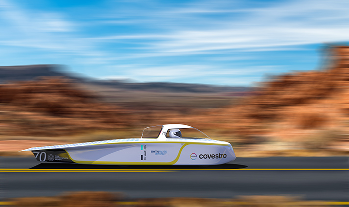 3.022km a través del desierto de Australia: el equipo Sonnenwagen asumió el desafío con su coche solar