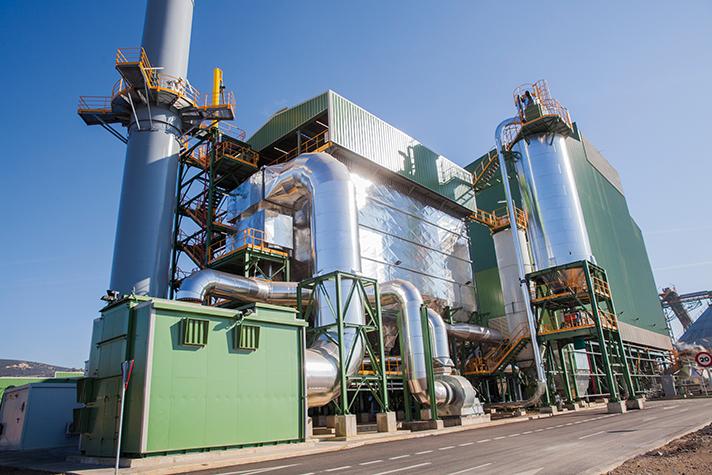 Planta de biomasa de nueva generación de ENCE en Puertollano