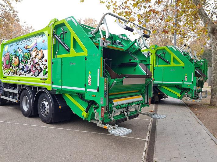 El Ayuntamiento de Valladolid incorpora vehículos de Limpieza Geesinknorba propulsados por GNC