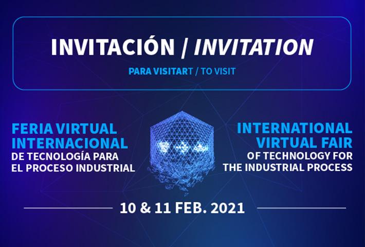Más de 18.000 profesionales se registran en la Feria Virtual Internacional de Tecnología para el Proceso Industrial