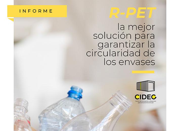 Los objetivos del informe son afrontar la problemática del abandono de residuos, poner en valor el r-PET y demostrar el desajuste entre la oferta y la demanda de este material