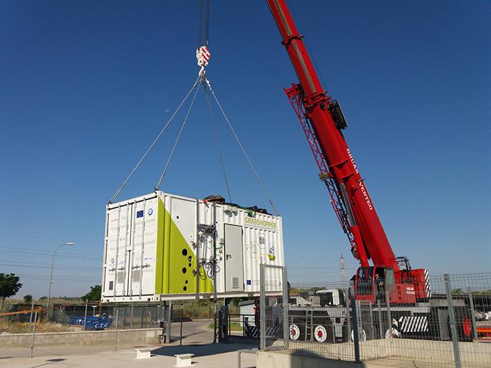 Se trata de una nueva generación de plantas de potencia basadas en pilas de combustibles (FCPP: Fuel Cell Power Plant) aptas para una operación flexible