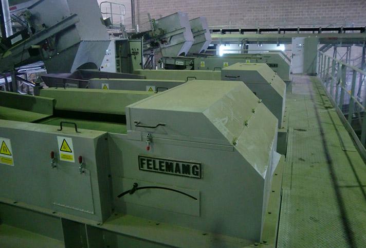 Felemamg: equipos de separación magnética