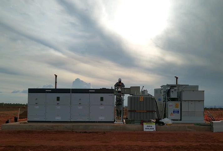Se trata de la tercera fase del complejo fotovoltaico brasileño São Gonçalo, que, una vez concluido, tendrá una potencia total de 864 MWp