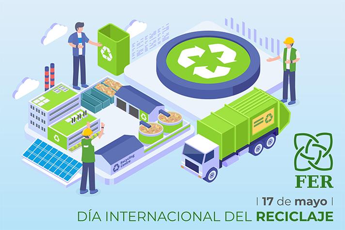 """""""Hoy rendimos homenaje a los gestores de residuos, cuya labor es esencial para lograr un desarrollo sostenible y respetuoso con el medio ambiente"""": Ion Olaeta, presidente de FER"""