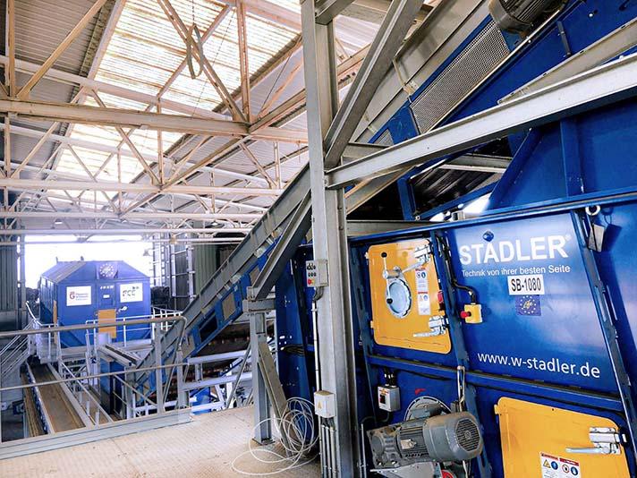 Stadler desarrolla y fabrica la línea de clasificación integrada para el proyecto LIFE4FILM en la planta de Granada operada por FCC Medio Ambiente