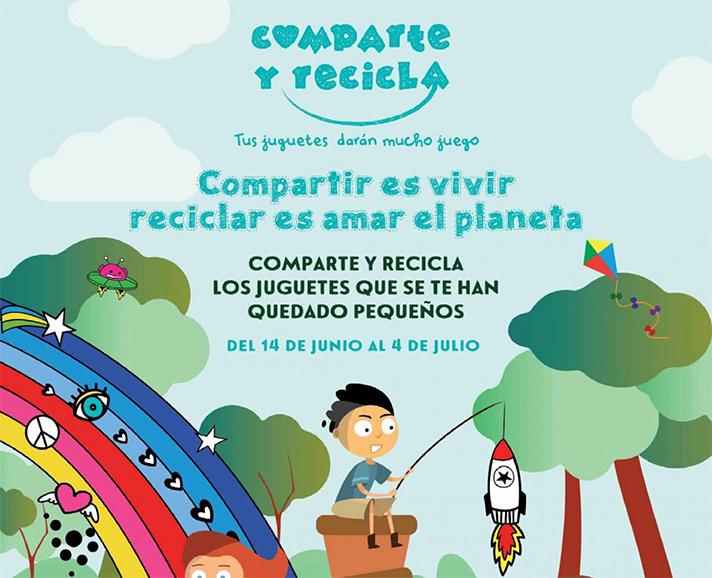 """Compartir es vivir, reciclar es amar el planeta"""", es el lema de la nueva edición de la campaña"""