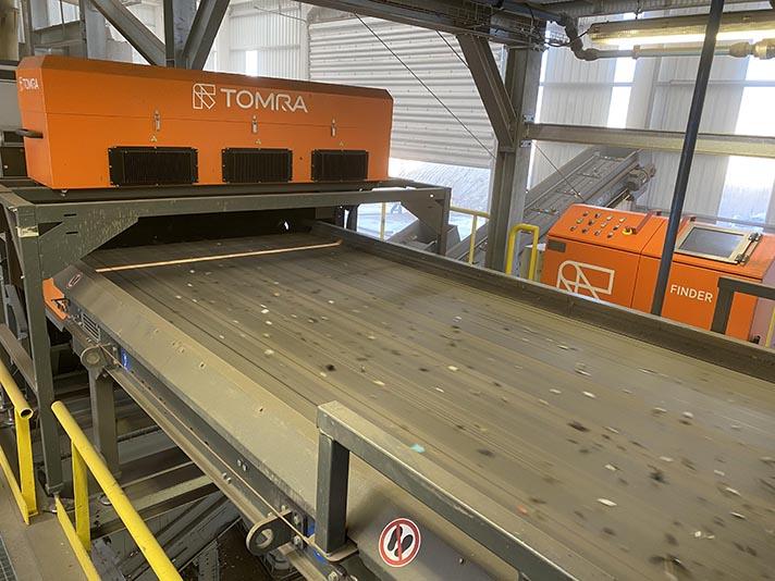 Interecycling, S.A. apuesta por la tecnología de TOMRA Sorting Recycling
