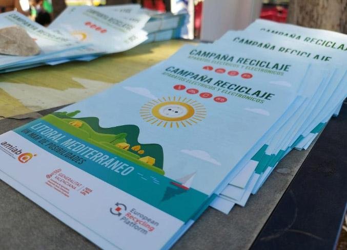 'Un mar de posibilidades' para fomentar el reciclaje de residuos electrónicos en la Comunitat Valenciana