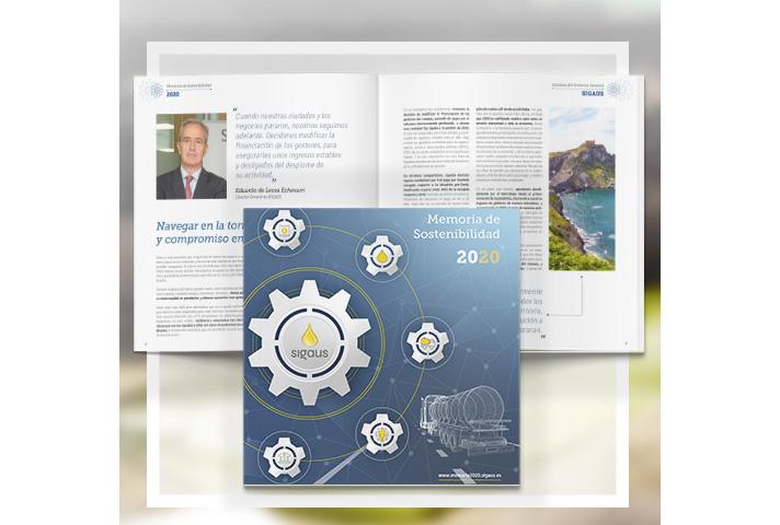 El compromiso de SIGAUS con el tejido económico, eje central de su memoria de sostenibilidad 2020