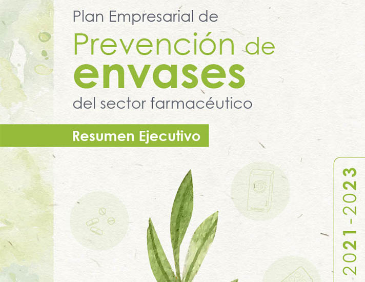 Ya está disponible el Resumen Ejecutivo del Plan Empresarial de Prevención de envases del sector farmacéutico 2021-2023