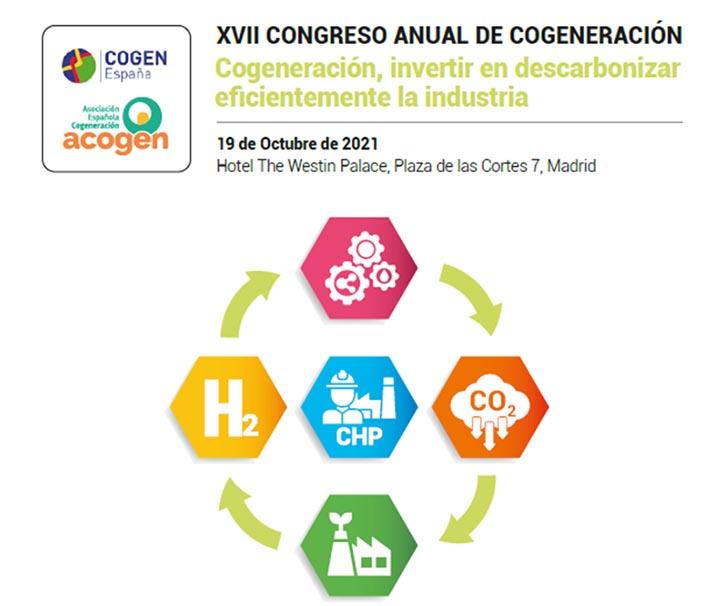 Cogeneración: nuevo ciclo inversor e integración de gases renovables e hidrógeno en los sistemas energéticos