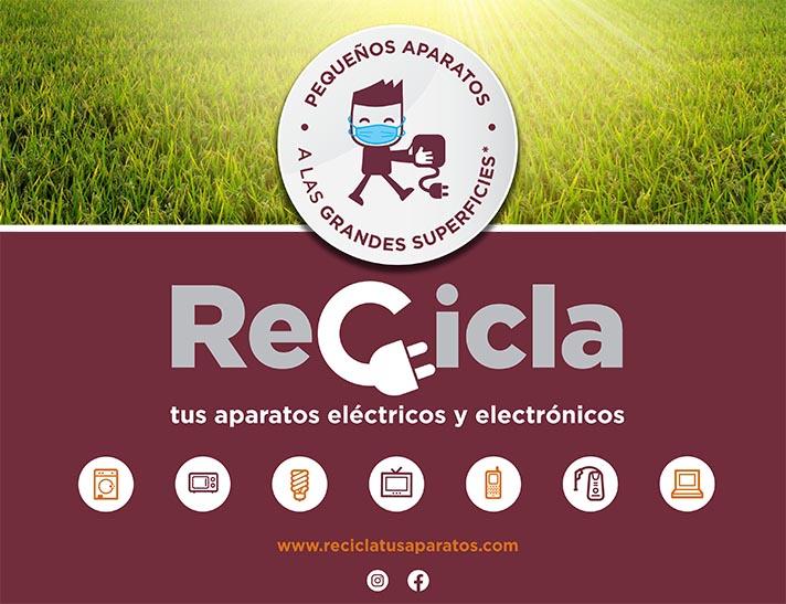La campaña 'recicla tus aparatos' retoma su recorrido por la Comunidad Valenciana