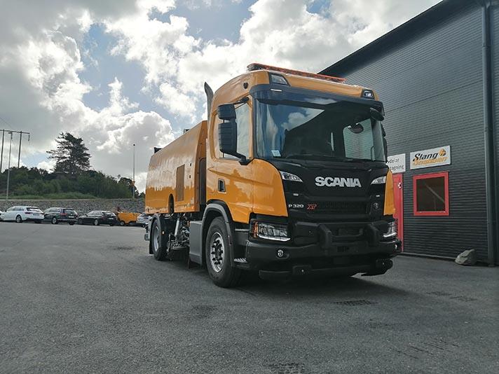 Allison Transmission entrega una caja de cambios completamente automática en Estocolmo para un camión multiusos