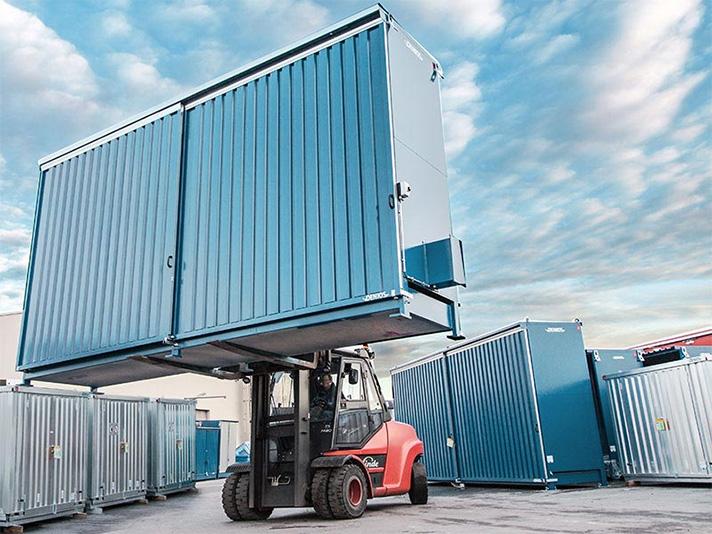 Las 6 ventajas que supone almacenar químicos en contenedores modulares prefabricados
