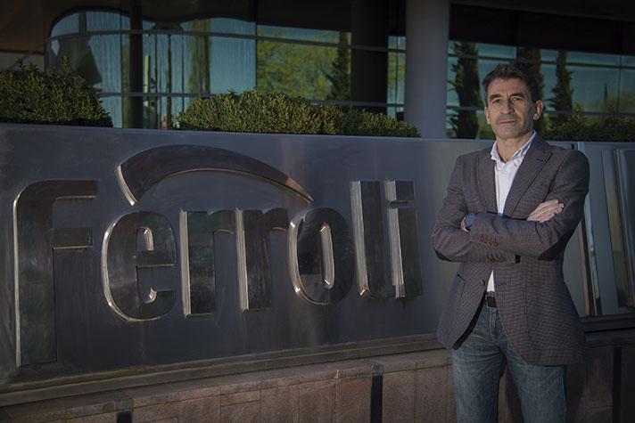 Aurelio Lanchas, Jefe de producto de calefacción de Ferroli España