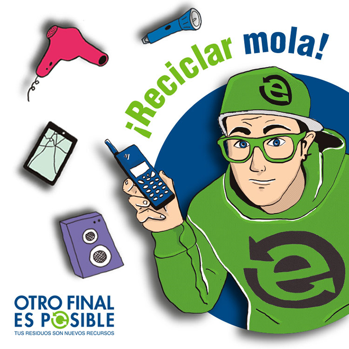 La iniciativa impulsada por Ecotic en Andalucía, Castilla y León y Castilla-La Mancha ha logrado recoger cerca de 36.000 kilogramos de residuos electrónicos