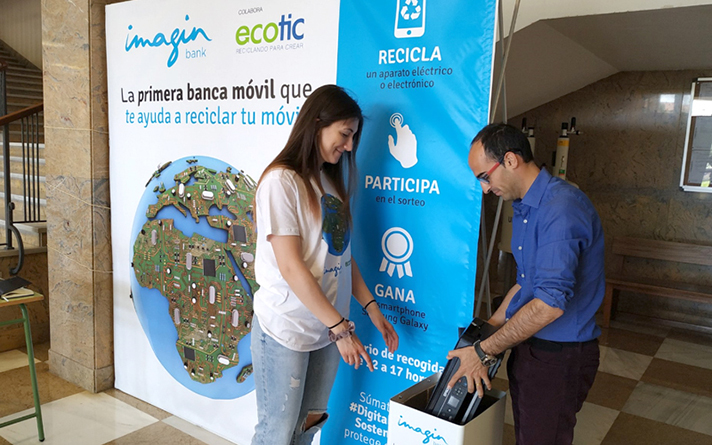La iniciativa impulsada por Ecotic ha logrado recoger 938 kilogramos de residuos de aparatos eléctricos y electrónicos (RAEE)