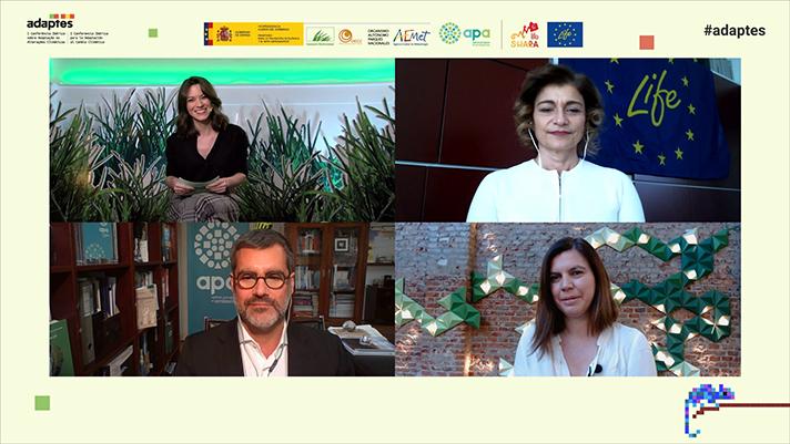 Representantes de España y Portugal han trabajado sobre la base de 10 sesiones temáticas con el objetivo de coordinar información sobre riesgos y soluciones derivados del cambio climático