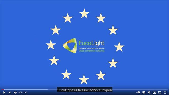 EUCOLIGHT ha recogido para su reciclaje más de 250.000 toneladas de bombillas, equivalentes a dos billones* de unidades