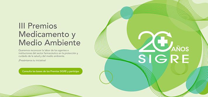 SIGRE celebra su 20º aniversario convocando los III Premios Medicamento y Medio Ambiente