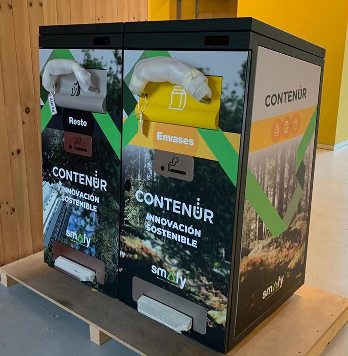 La papelera SmafyBin se presentará como novedad dentro del foro Greencities