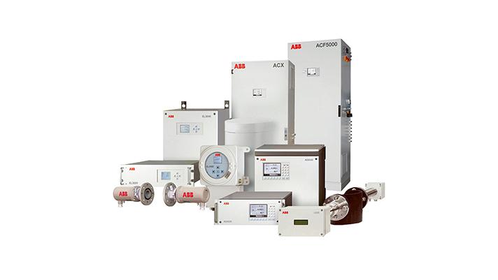 El mantenimiento preventivo a menudo se utiliza para mantener los analizadores de gases de ABB mostrados aquí en excelentes condiciones de funcionamiento