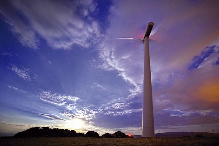 La energía eólica es la primera tecnología del sistema español