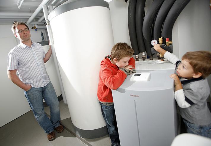 Los sistemas geotérmicos de climatización son aptos para ser instalados en cualquier edificio