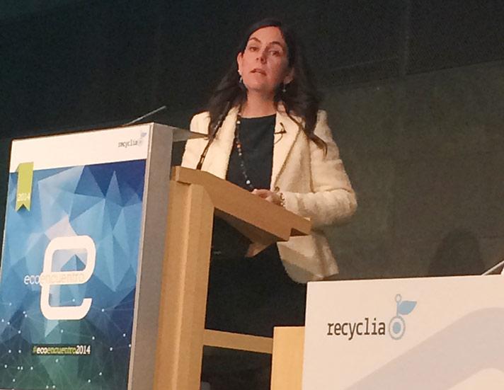 Teresa Mejía, directora general de Ecolum